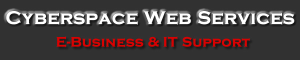 Cyberspace Web Services - E-Business & IT Support